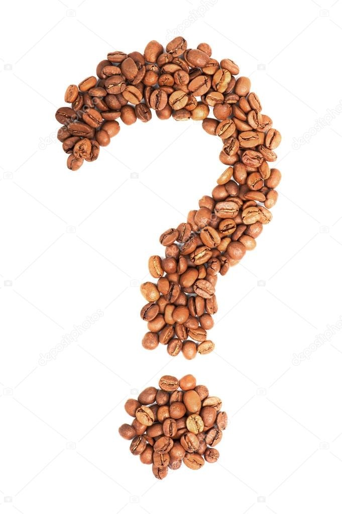 depositphotos 47458005 stock photo question mark from coffee beans